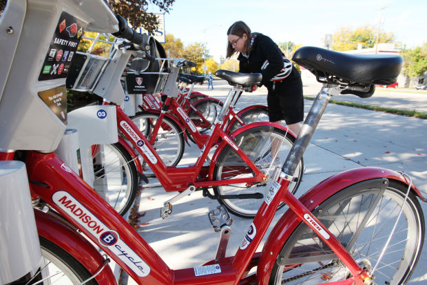 Who's using those red BCycles? (via The Capital Times)
