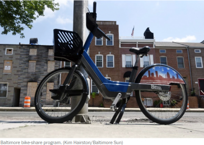 Bike-share debacle isn't unique to Baltimore. Thefts, other woes had also hit the early programs in N.Y., Paris