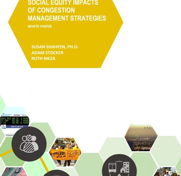 Social Equity Impacts of Congestion Management Strategies Whitepaper