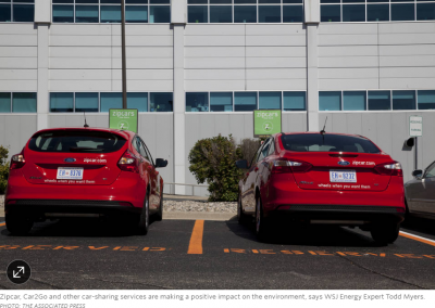 Does Car Sharing Help the Environment? The Early Evidence Is In