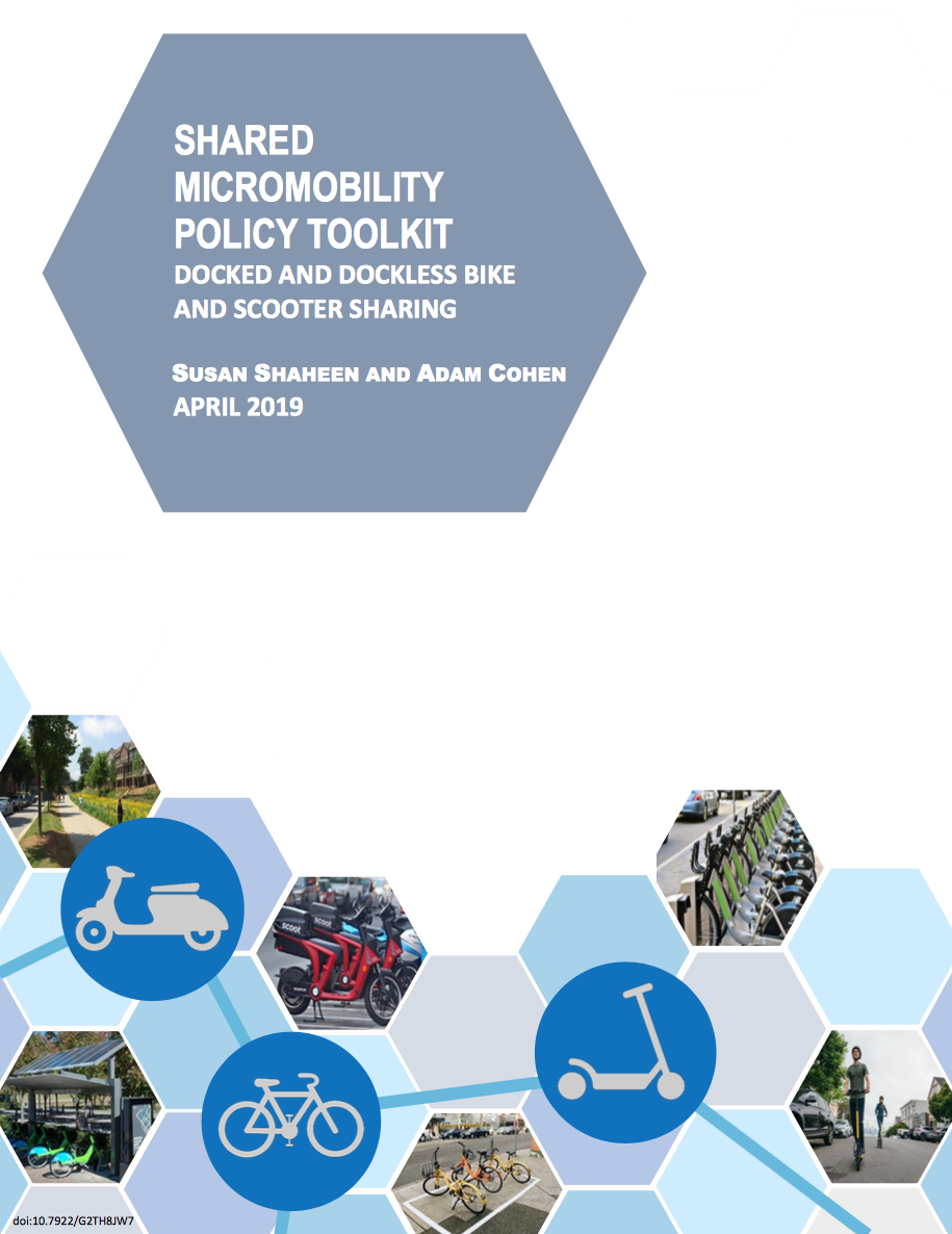 Shared Mobility Resources | Innovative Mobility Research