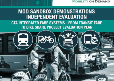 MOD Sandbox Demonstrations Independent Evaluation: CTA Integrated Fare Systems From Transit Fare to Bike Share Project Evaluation Plan