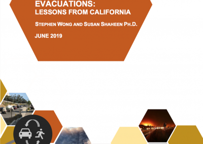 Current State of the Sharing Economy and Evacuations: Lessons from California