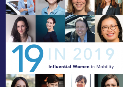 Top 19 of 2019 Influential Women in Mobility