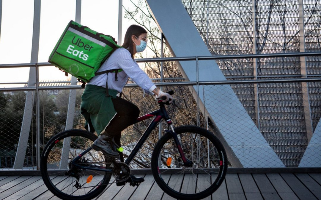 COVID-19 Impacts on Shared Mobility: On-Demand Rides Shifting to Delivery Services