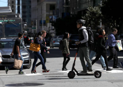 Scooters could improve mobility in low-income areas, but they have an image problem