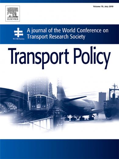 TSRC Study Earns Transport Policy Prize